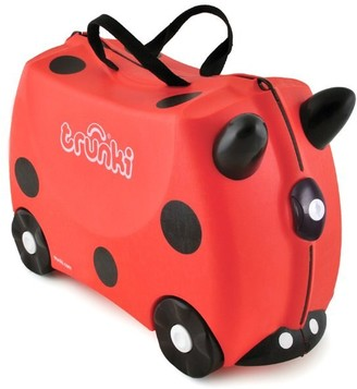 Trunki Ride-on Suitcase - Harley the Ladybug