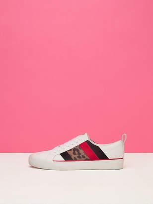 Diane von Furstenberg Tess Leopard Sneakers
