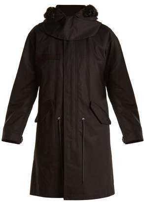 Helmut Lang Hooded 1998 Parka - Womens - Black