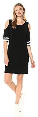 Tiana B Women's Cold Shoulder Dress with hi lo Hem
