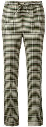 P.A.R.O.S.H. plaid trousers