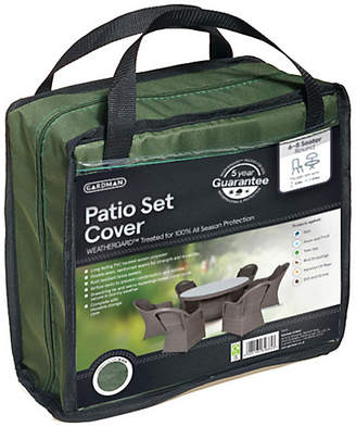 Gardman 6 to 8 Seater Round Patio Set Cover - Greens
