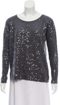 Calypso Wool Sequined Sweater