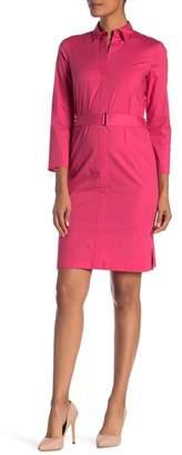 BOSS Dashir A-Line Shirtdress