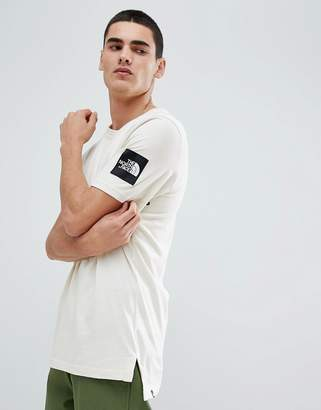 The North Face Fine 2 T-Shirt in Vintage White