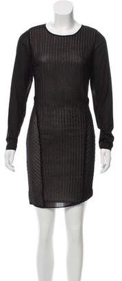 Reiss Long Sleeve Mini Dress