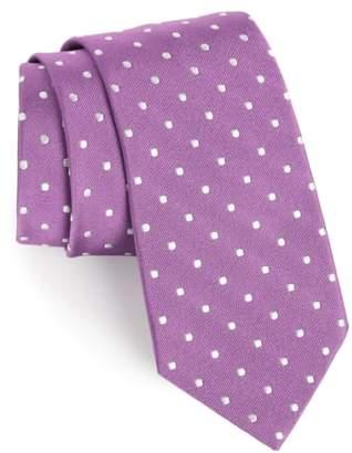 Gitman Polka Dot Silk Tie