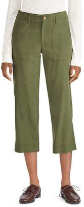 Ralph Lauren Cropped Straight-Leg Pants