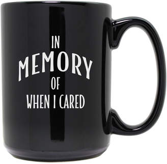 Susquehanna Glass In Memory Etched Black Mug