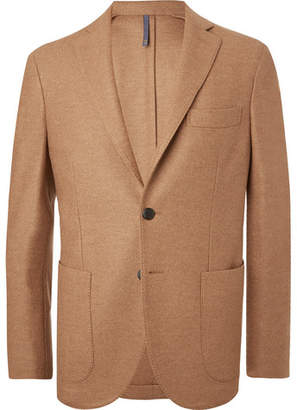 Incotex Beige Slim-Fit Double-Faced Virgin Wool-Bouclé Blazer