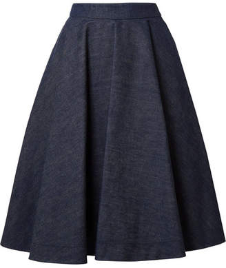 Calvin Klein Denim Skirt - Dark denim
