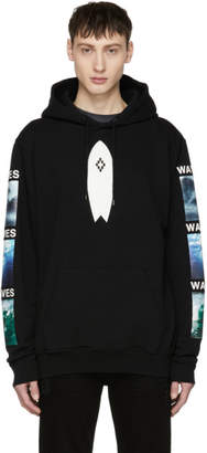 Marcelo Burlon County of Milan Black Surf Hoodie