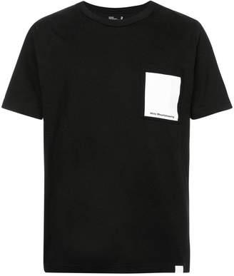 White Mountaineering logo print T-shirt