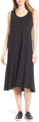 Caslon Drop Waist Jersey Dress