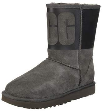 UGG Women's W Classic Short Rubber Fashion Boot
