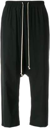 Rick Owens cropped track trousers
