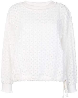 See by Chloe textured sweatshirt
