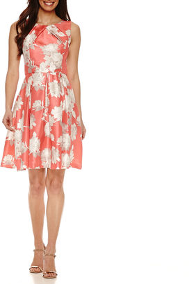 JESSICA HOWARD Jessica Howard Sleeveless Fit & Flare Dress $72 thestylecure.com