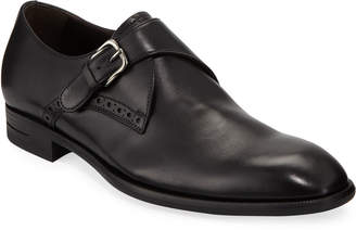 Ermenegildo Zegna Men's New Flex Monk-Strap Shoes