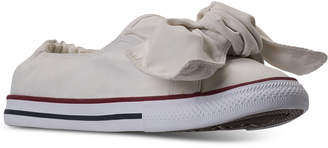 Converse Chuck Taylor Peached Canvas Knot Casual Sneakers from Finish Line