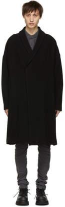 Julius Black Shawl Coat