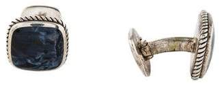 David Yurman Pietersite Exotic Stone Cufflinks