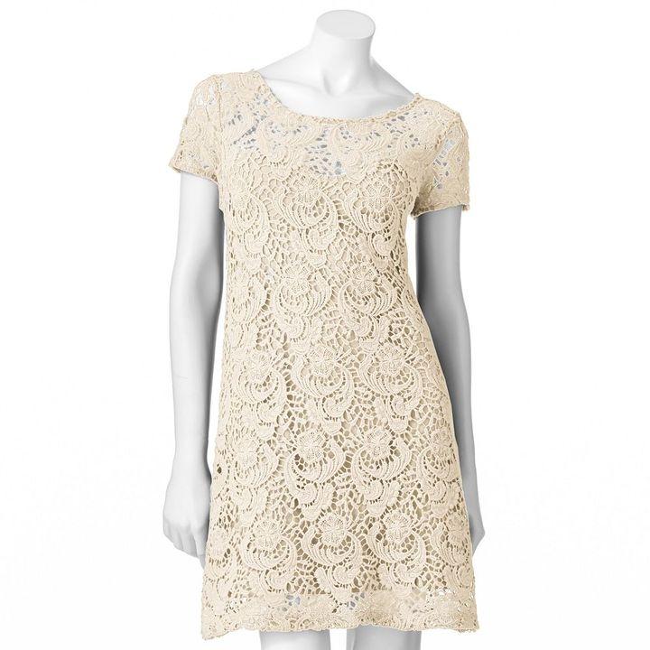 Lauren Conrad lace shift dress