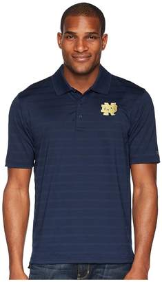 Champion College Notre Dame Fighting Irish Textured Solid Polo Men's Short Sleeve Pullover