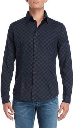Armani Jeans Navy Slim Fit Shirt