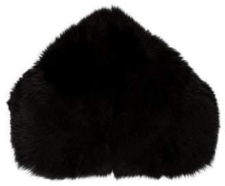 Burberry Fur Stole Scarf
