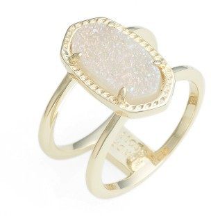 Women's Kendra Scott Elyse Ring $70 thestylecure.com