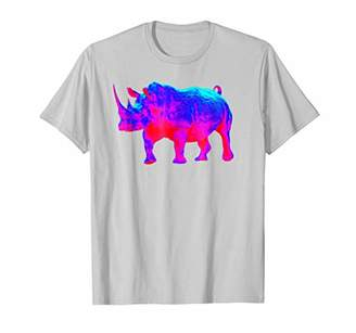 EDM Electronic Dance Techno Rhino Rave T-Shirt