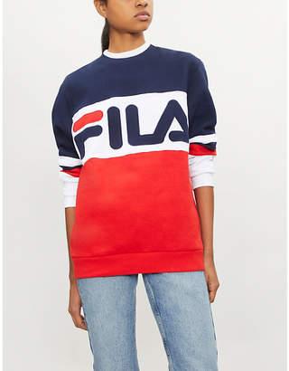 Fila Freddie logo-print cotton-blend sweatshirt