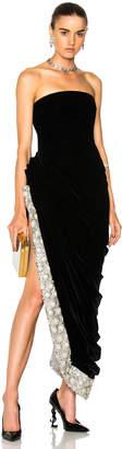Oscar de la Renta Crystal Embellished Strapless Gown $8,490 thestylecure.com