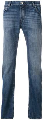 Closed straight leg jeans