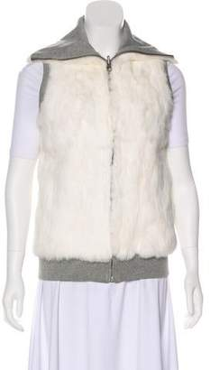 Alice + Olivia Reversible Fur Vest