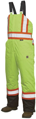 JCPenney Work King High-Visibility Insulated Overalls