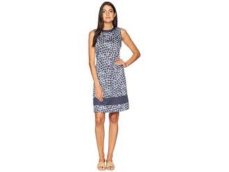 Anne Klein Sleeveless Jewelneck Sheath Dress