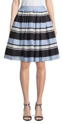 Dolce & Gabbana Striped Cotton Skirt