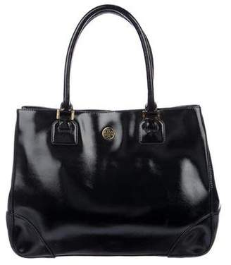 Tory Burch Patent Leather Robinson Tote
