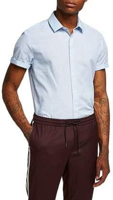 Topman Slim Fit Stripe Shirt