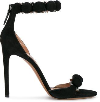 Alaïa studded sandals $897.87 thestylecure.com