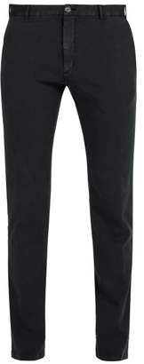 J.w.brine J.W. Brine J.w. Brine - Owen Cotton Blend Jersey Chino Trousers - Mens - Black