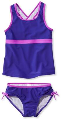 f217f6622c3a4 L.L. Bean L.L.Bean Girls' Tide Surfer Swimsuit, Two-Piece