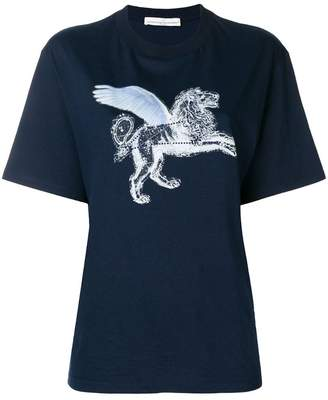 Golden Goose strass lion print T-shirt