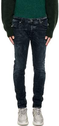 Diesel Dark Blue Sleenker Denim Jeans