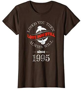 23rd Wedding Anniversary T-Shirt Funny For Married In 1995 R