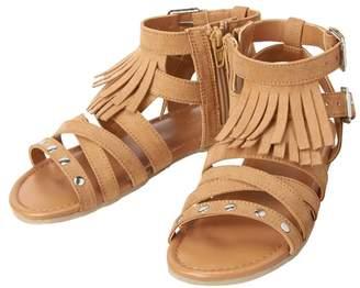 Crazy 8 Fringe Gladiator Sandals