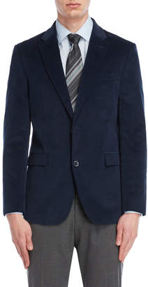 Tommy Hilfiger Blue Corduroy Stretch Blazer