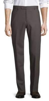 Saks Fifth Avenue Nano Flex Twill Wool Pants
